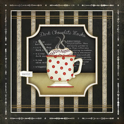 Kitchen Cuisine Coffee IIi Art Print