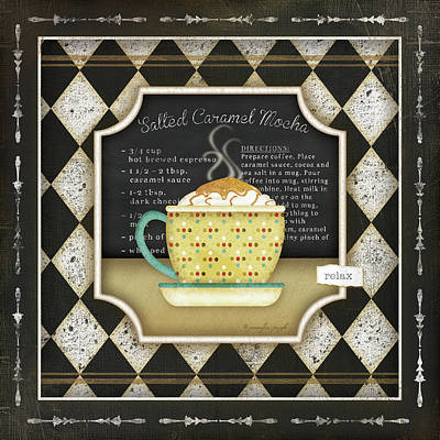 Kitchen Cuisine Coffeei Art Print