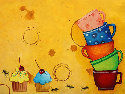 Ant Digital Art - Kitchen Deco by Nirdesha Munasinghe