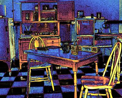 Digital Art - Kitchen Memories by Ian  MacDonald