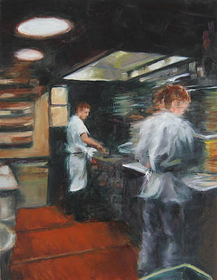 Painting - Kitchen Movements by Connie Schaertl
