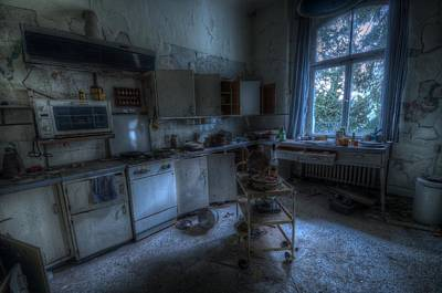 Digital Art - Kitchen by Nathan Wright