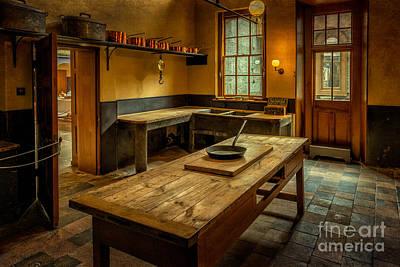 Old-fashioned Digital Art - Kitchen Quarters  by Adrian Evans