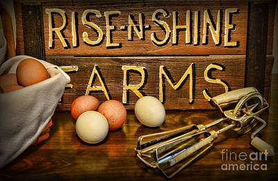 Kitchen  Rise And Shine Art Print by Paul Ward