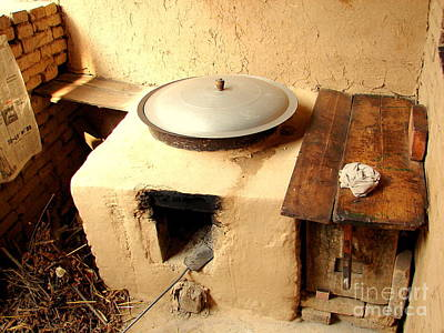 Photograph - Kitchen Rural China by John Potts