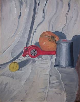 Kitchen Still Life Original by KarishmaticArt -  Karishma Desai