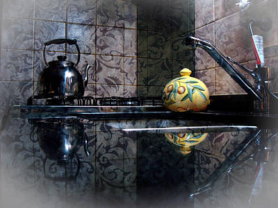 Pottery Sinks Photograph - Kitchen Stove by Francisco Colon