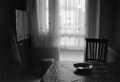 35mm Photograph - Kitchen Table by Ilker Goksen