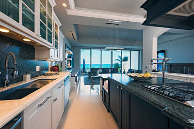 Photograph - Kitchen With A View by Jody Lane