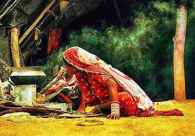 Kitchens Of India Art Print