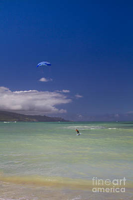 Photograph - Kite Beach Blue by Sharon Mau