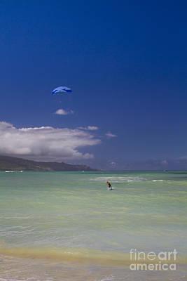 Photograph - Kite Beach Blue by Sharon Mau