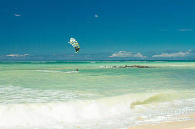Photograph - Kite Beach Kanaha Maui Hawaii by Sharon Mau