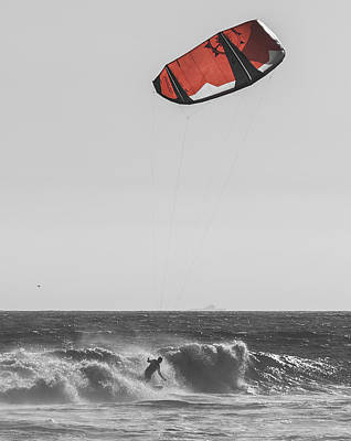 Photograph - Kite Dont Fail Me Now by Scott Campbell