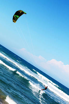Extreme Sports Photograph - Kite Surf by Carl E Vic T
