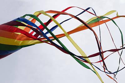 Art Print featuring the photograph Kite  by Susan  McMenamin
