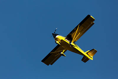 Flying Photograph - Kitfox Over The Snake River by John Daly