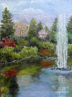 Painting - Kitty Coleman Gardens by Al Hunter
