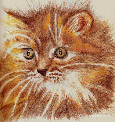 Painting - Kitty Kat Iphone Cases Smart Phones Cells And Mobile Phone Cases Carole Spandau 316 by Carole Spandau