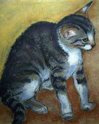 Painting - Kitty Kitty by Carol Jo Smidt