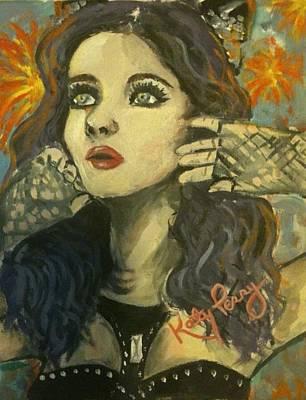 Kitty Perry Art Print by Alana Meyers