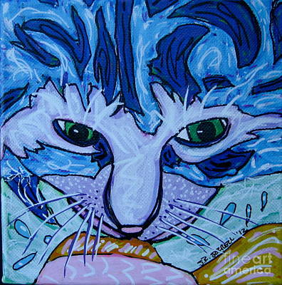 Painting - Kitty by Susan Sorrell