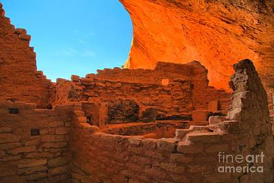 Photograph - Kiva Under An Alcove by Adam Jewell
