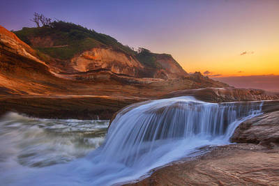 Royalty-Free and Rights-Managed Images - Kiwanda Cascade by Darren White