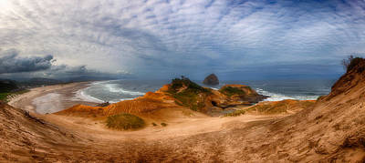 Royalty-Free and Rights-Managed Images - Kiwanda Pano by Darren White