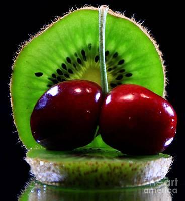 Kiwi Fruit Art Print by Dipali S