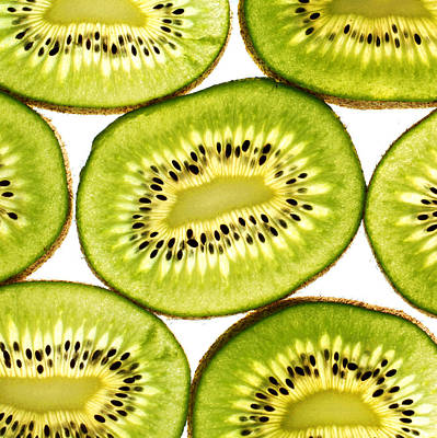 Kiwi Photograph - Kiwi Fruit IIi by Paul Ge