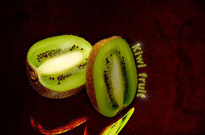 Kiwi Fruit Art Print by Tommytechno Sweden