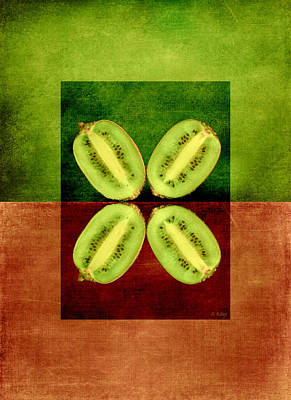 Photograph - Kiwifruit Fruity Tootie by Fran Riley