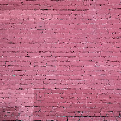 Brick Photograph - KK by Lee Harland