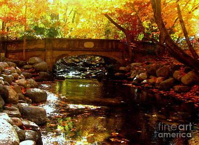 Serenity Oregon Painting - Klam.12-12 by Shasta Eone