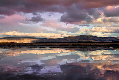 Photograph - Klamath Basin Sunset by Kathleen Bishop