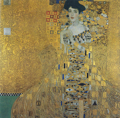 Adele Painting - Klimt Adele Bloch-bauer by Granger