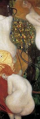 Klimt, Gustav 1862-1918. Goldfish Art Print by Everett