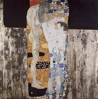 1918 Photograph - Klimt, Gustav 1862-1918. The Three Ages by Everett