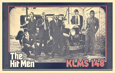 Golden Twenties Mixed Media - Klms Hit Men Poster 1975 by Gerald MacLennon
