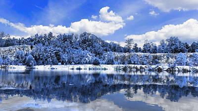 Charles Digital Art - Klondike Blue by Bill Tiepelman