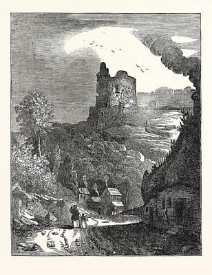 Knaresborough Castle, Yorkshire, Uk, Britain Art Print