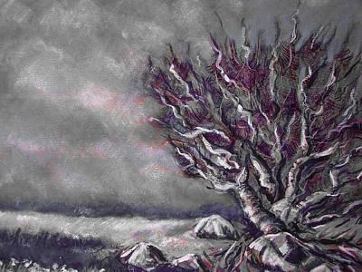 Knarly Tree Art Print by Jon Shepodd