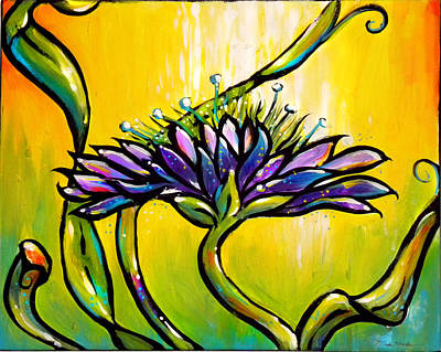 Painting - Knautia by Nada Meeks