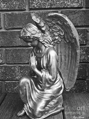 Photograph - Kneeling Angel by Lyric Lucas