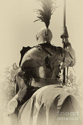 Knight In Shining Armour Photograph - Knight 6 by Bob Christopher