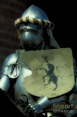 Knight In Shining Armour Photograph - Knight 9 by Bob Christopher