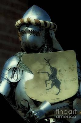 Knight 9 Art Print by Bob Christopher