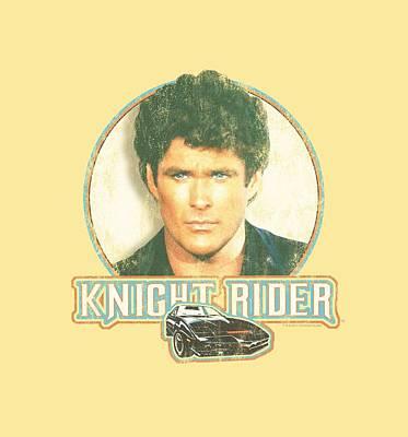 Car Show Digital Art - Knight Rider - Vintage by Brand A