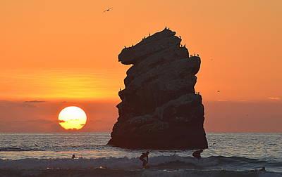 Photograph - Knight Rock by AJ  Schibig